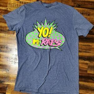 Yo! MTV Raps Vintage Design Tshirt - Medium